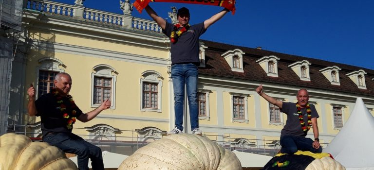 European Pumpkin weigh-off Ludwigsburg